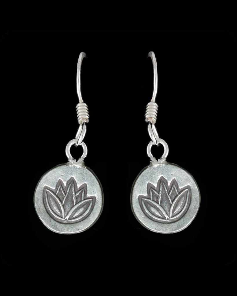 Lotus Hanging Earring