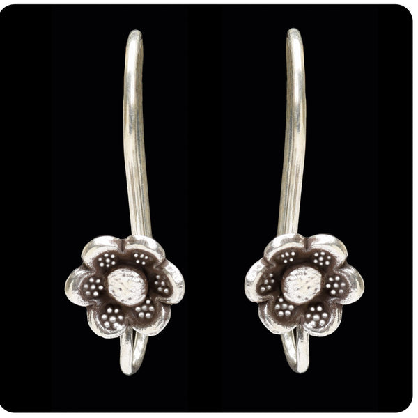 Tribal Hook Flower Earring
