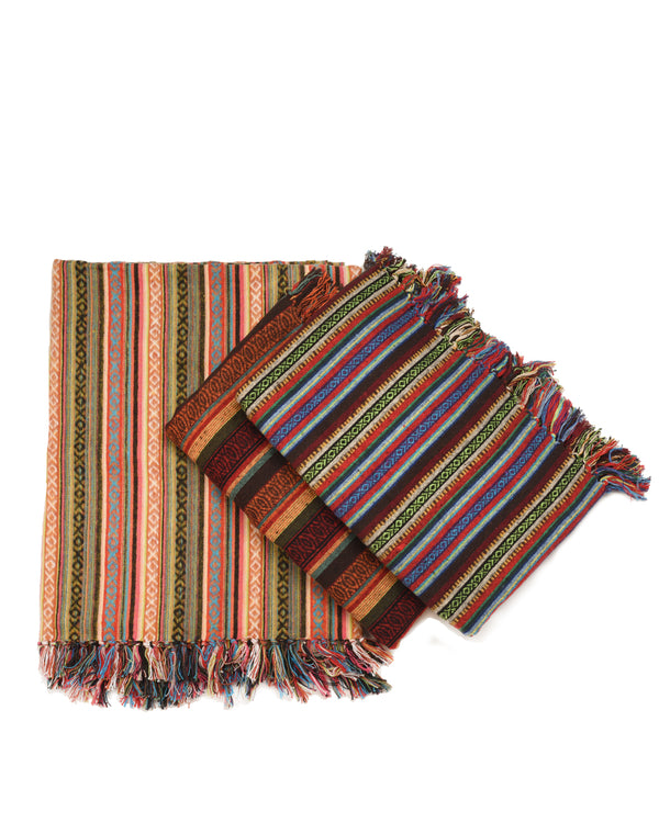 Brushed Cotton Gheri Blanket