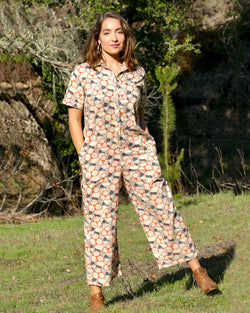 Orange Blossom Jumpsuit