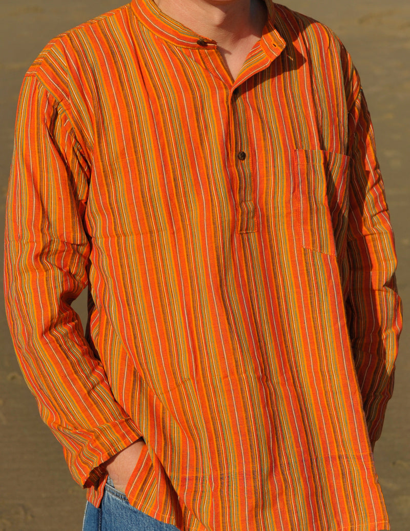 Striped Cotton Kurta
