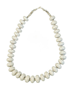 Simple White Necklace