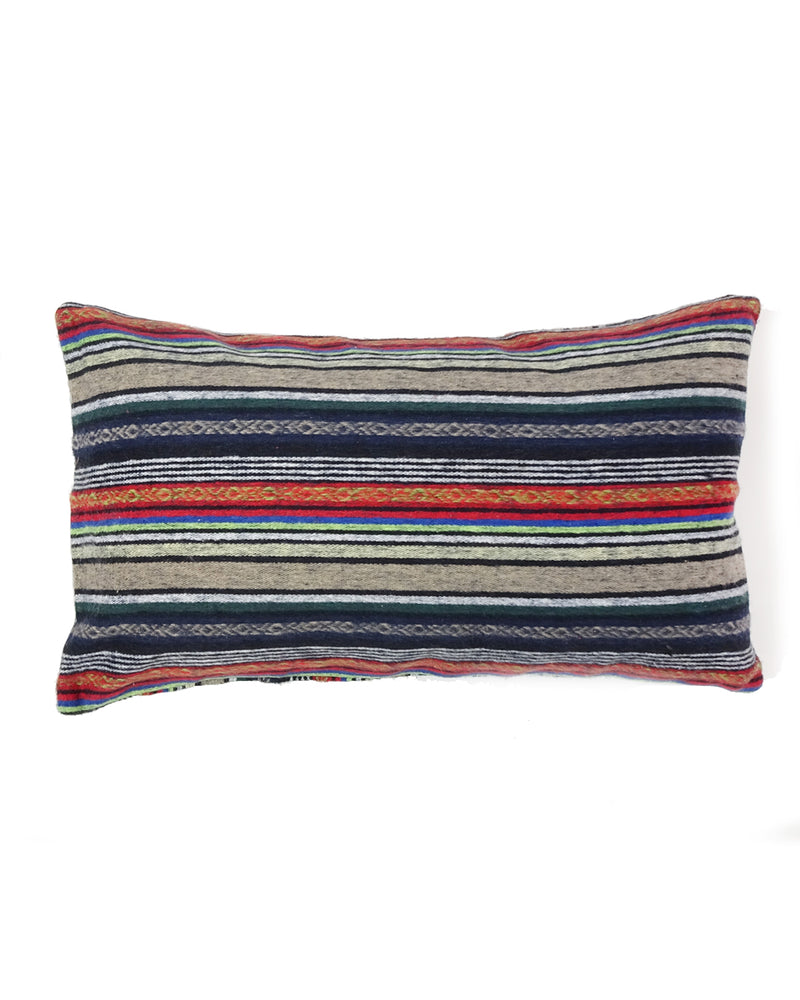 Brushed Cotton Gheri Lumbar Pillow Case
