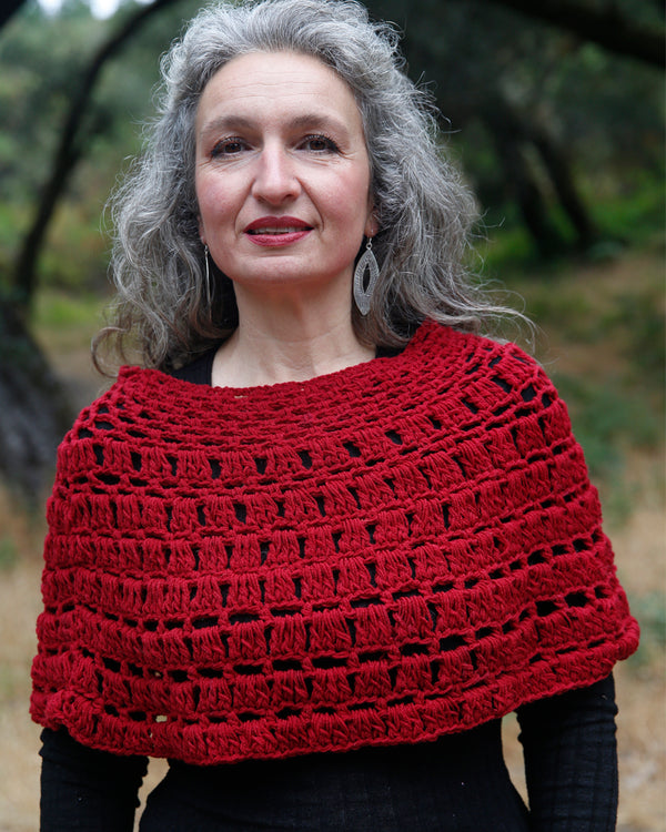 Crochet Shoulder Poncho