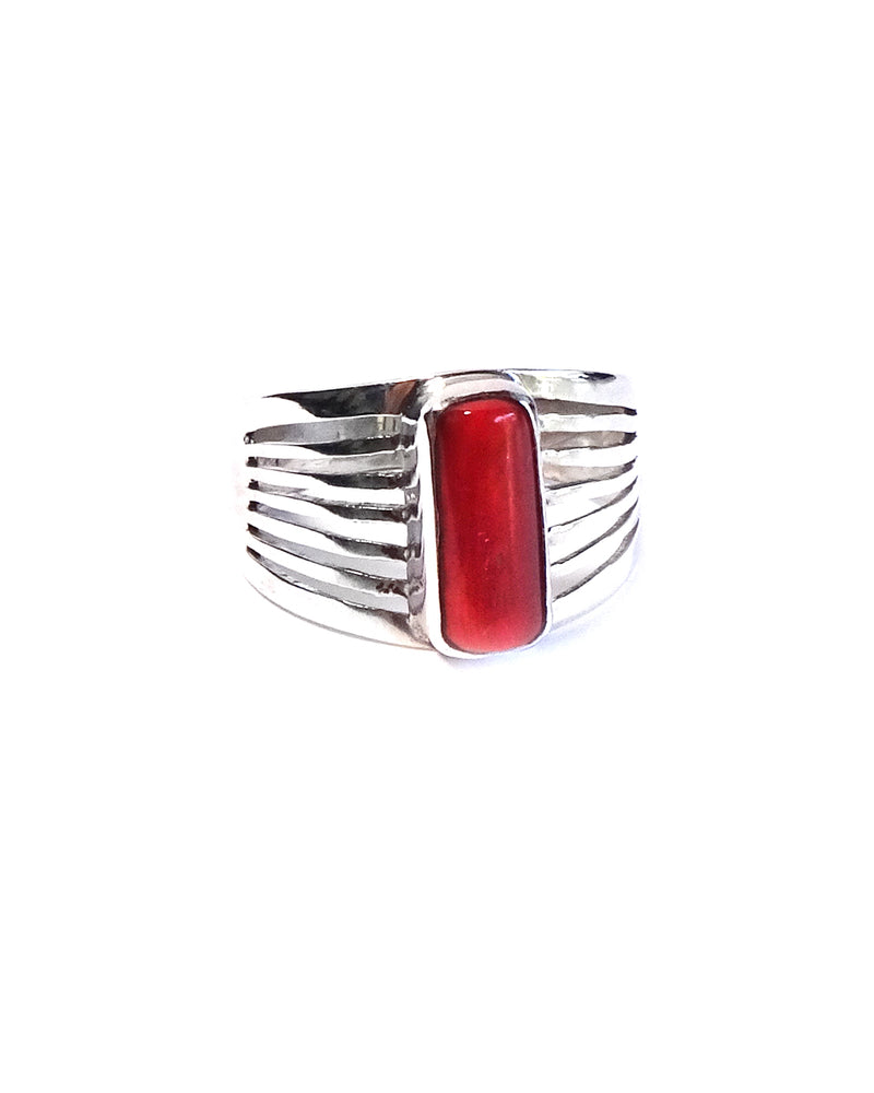 Ring with Cut Out Band