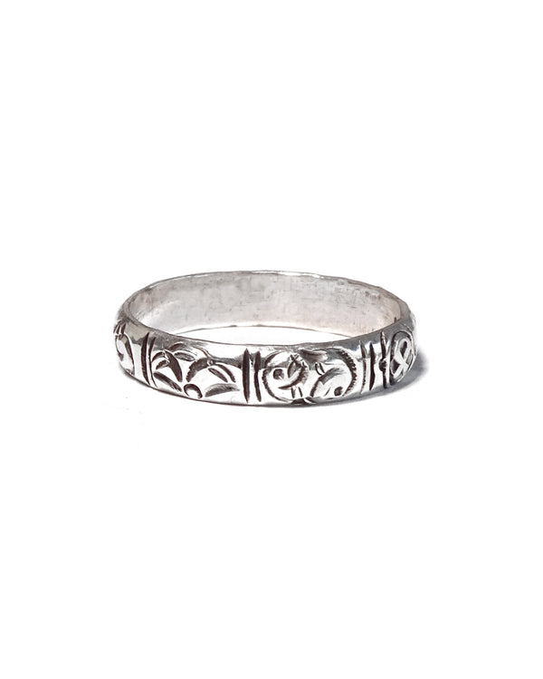 Tibetan Thin Band Ring