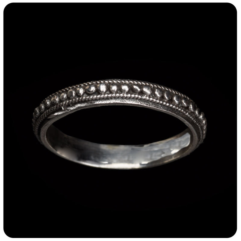 Thin Dotted Ring