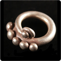 Tribal Seed Pod Ring