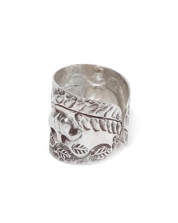 Floral Tribal Elephant Ring