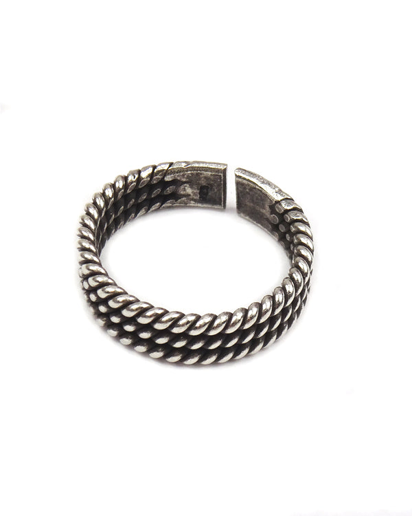 Stacking Twist Tribal Ring