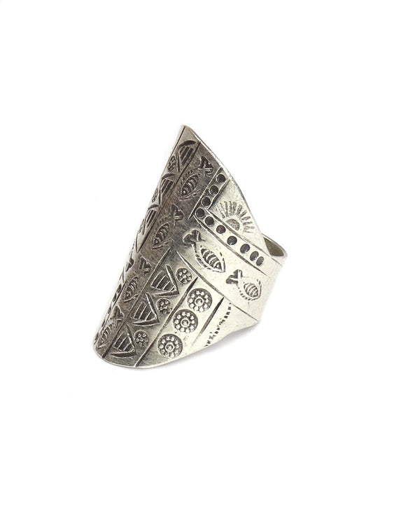 Tribal Village Ring