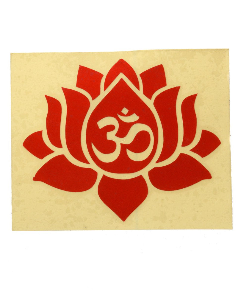 Lotus Sticker (Pack of 10)