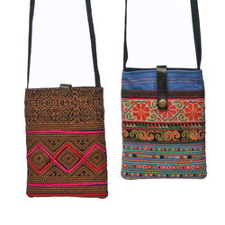Tribal Passport Bag