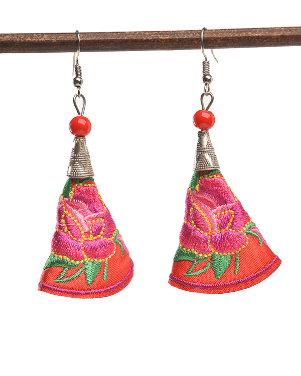 Tribal Tulip Earrings