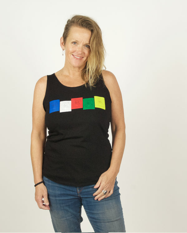 Prayer Flag Tank Top