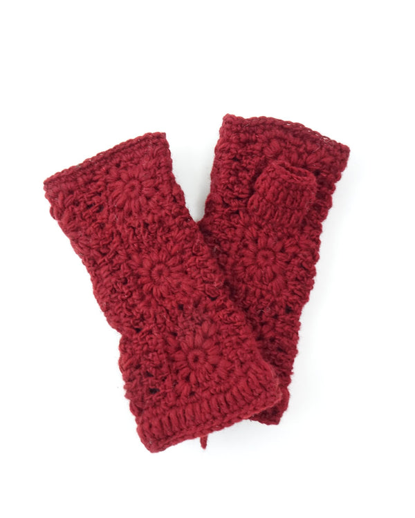 Simple Crochet Fingerless Gloves