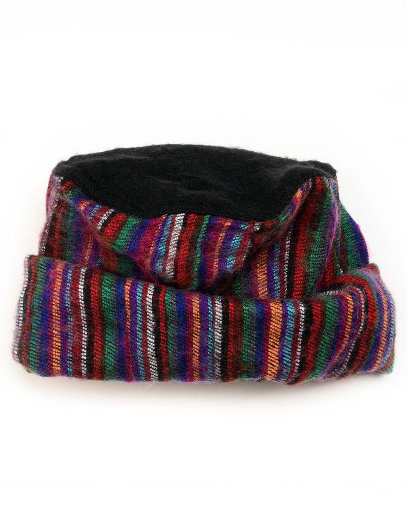 Multi-Striped Brushed Woven Pashtun