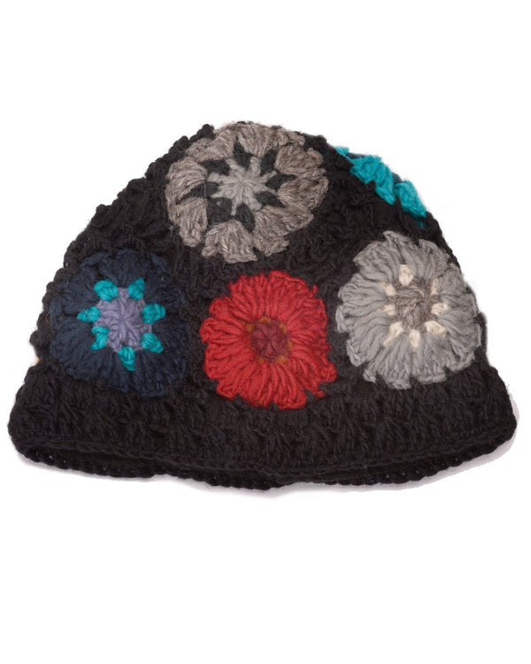 Crochet Flower Hat
