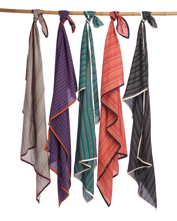 Cotton Striped Sarong