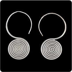 Tribal Spiral Earring