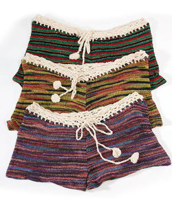 Crochet Beach Shorts