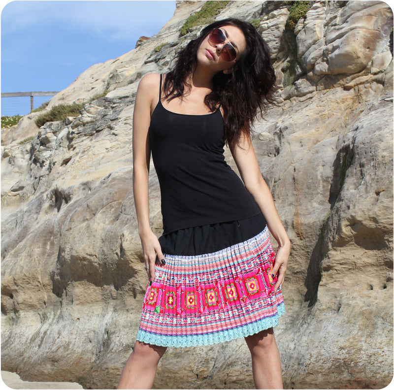 Short Tribal Skirt