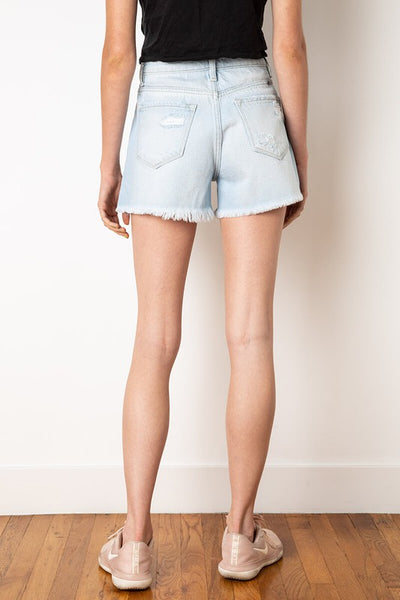 Jessie High Rise Denim Shorts