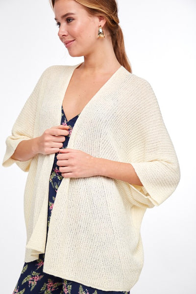 Be The Good Lightweight Cardigan - Ivory