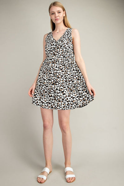 Feeling Fierce Leopard Dress