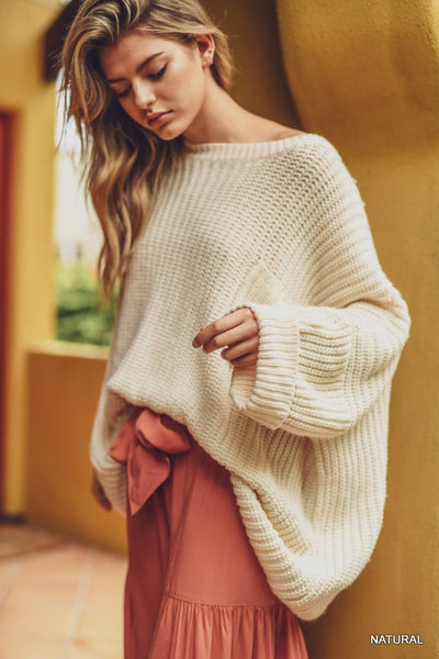 By Surprise Sweater - Ivory