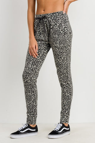 Leopard Lounging Jogger