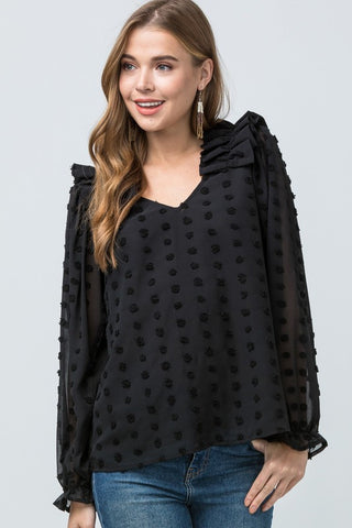 Stay With Me Top - Black