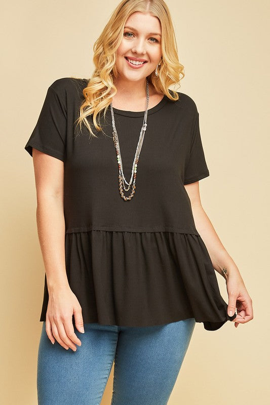 Cherished Dreams Top - Black