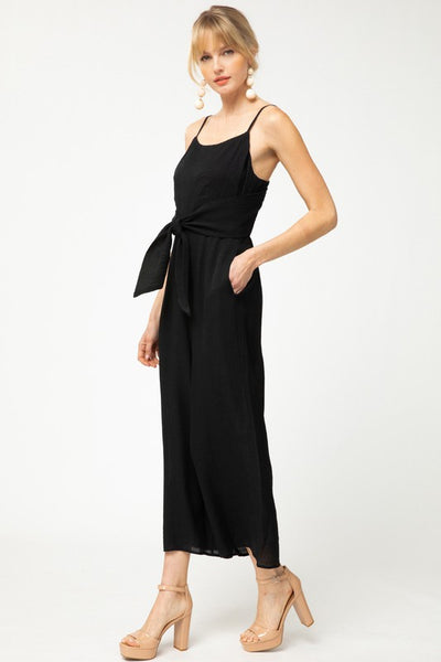 After Sunset Jumpsuit -Black