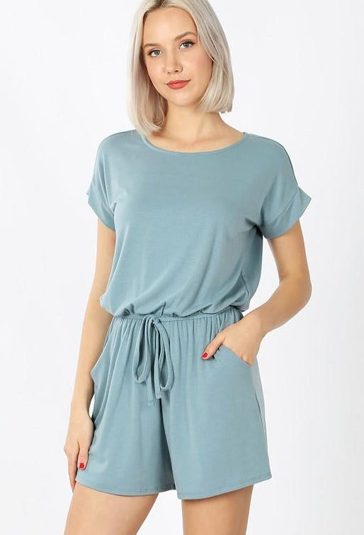 Heavenly Jumpsuit - Blue