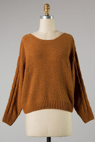 Addalyn Sweater - Brown