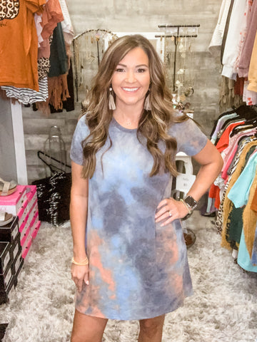 Eternal Love Tye Dye Dress