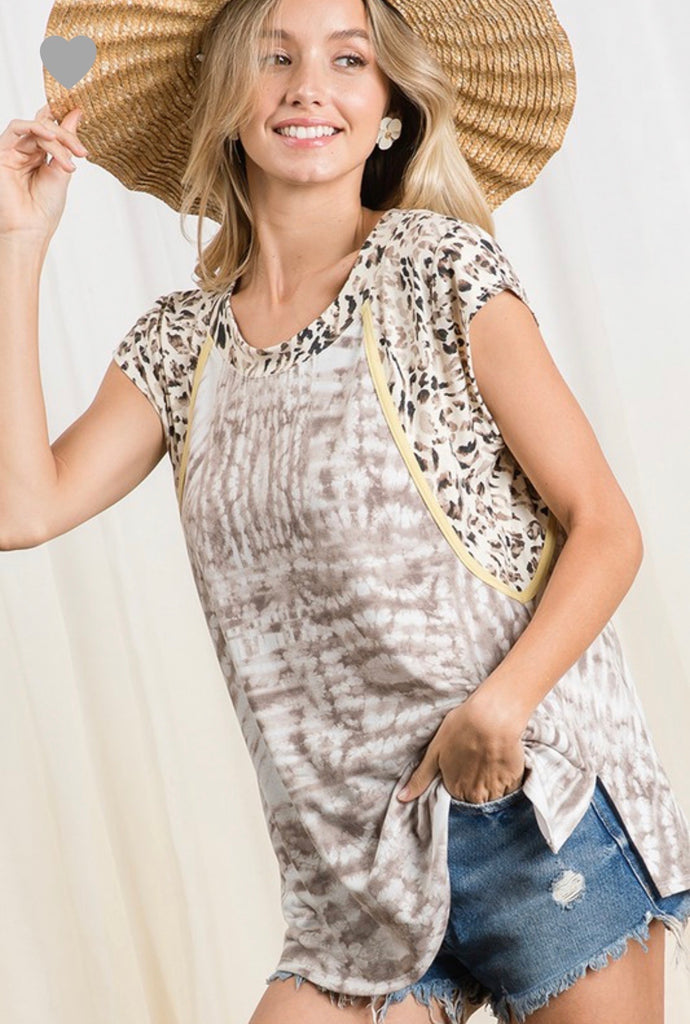 Smooth Talking Animal Print Top