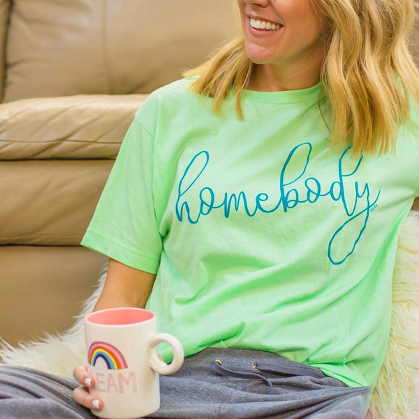 Homebody Tee - Mint