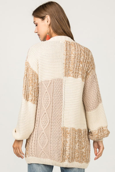 Right Here Waiting Cardigan - Ivory