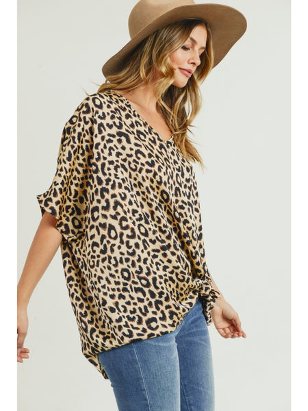 Fierce Fits You Leopard Top