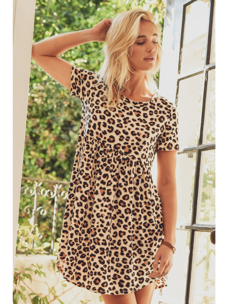 The Perfect Day Leopard Dress