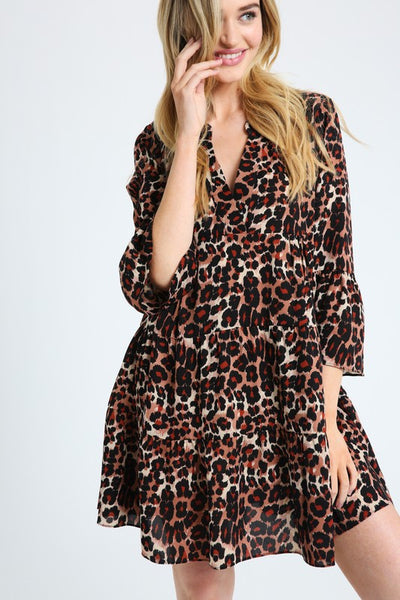 Wild Adventure Leopard Dress