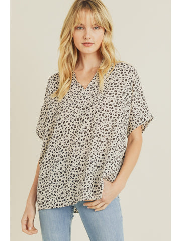 Not Over You Leopard Top