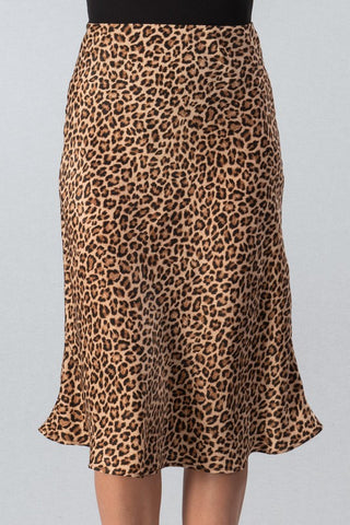 Welcome To The Jungle Leopard Skirt