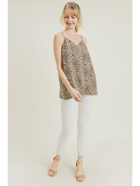 Wild For You Cami - Leopard