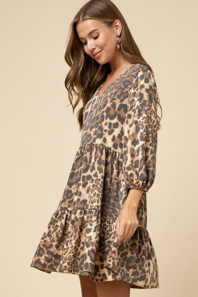 Heaven In Hiding Leopard Dress