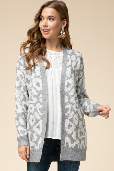 Hopes and Dreams Leopard Cardigan
