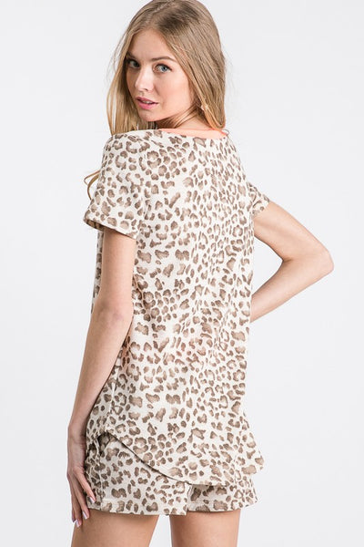 Only Chance Leopard Top