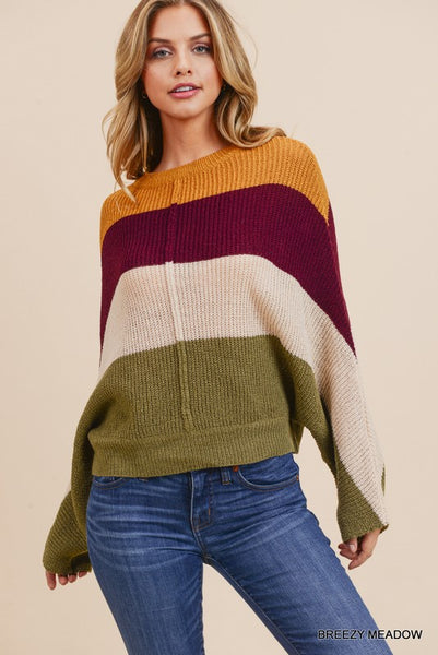 All Yours Colorblock Sweater
